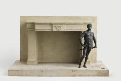 Maquette de cheminée pour l'atelier de Meissonier